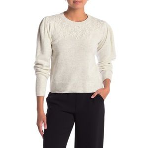 Rebecca Taylor | La Vie Pleated Shoulder Sweater